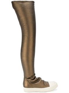 кроссовки с чулочной вставкой Rick Owens