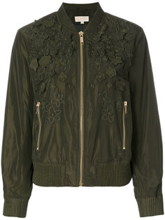 куртка-бомбер с цветочными деталями Michael Michael Kors