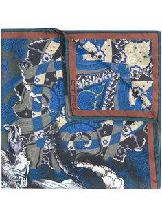 карманный платок с принтом пейсли Etro