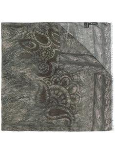 шарф с анималистичным принтом Etro