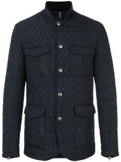куртка с зигзагообразным узором Etro