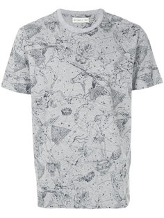 футболка с космическим принтом Etro