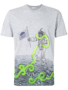 футболка с принтом астронавта Etro