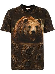 футболка с принтом медведя Etro
