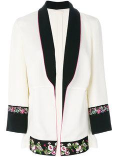 пиджак с цветочной вышивкой Etro