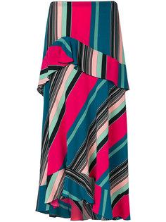 полосатая А-образная юбка Etro