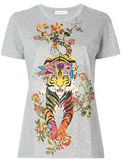 футболка с принтом тигра Etro