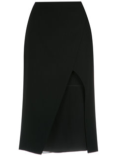 panelled midi skirt Giuliana Romanno