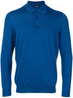 трикотажная рубашка-поло Kiton