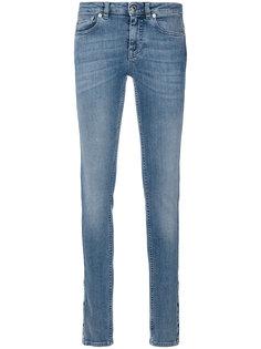 облегающие джинсы с рисунком из звезд Givenchy