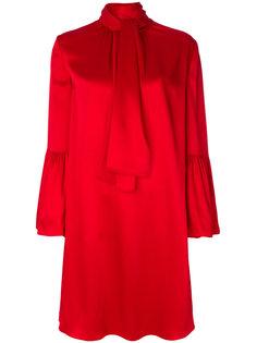 свободное платье-колокол Fendi