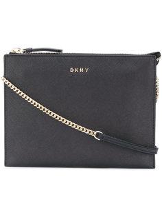 сумка через плечо с клапаном  DKNY