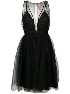 платье с глубоким вырезом Nº21