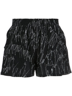 printed wide shorts Uma | Raquel Davidowicz