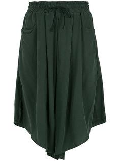 silk wide bermuda shorts Uma | Raquel Davidowicz