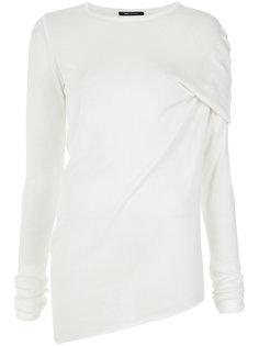 asymmetric knitted blouse Uma | Raquel Davidowicz