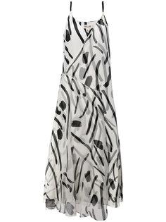 платье с абстрактным рисунком Dvf Diane Von Furstenberg