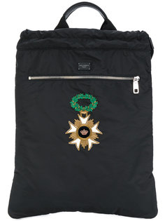 рюкзак с нашивками Dolce & Gabbana