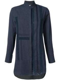 джинсовая рубашка с высоким воротником  Akris Punto
