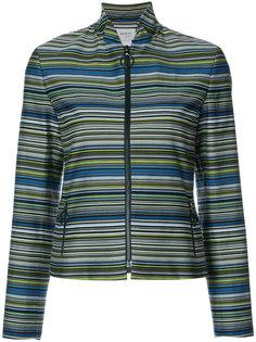 приталенный пиджак в полоску  Akris Punto