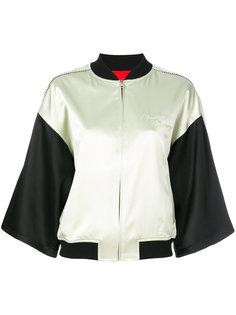 куртка бомбер с контрастными вставками Opening Ceremony
