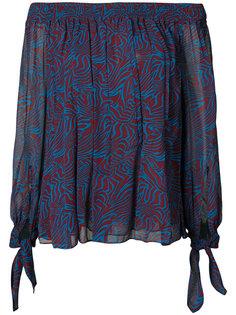 блузка с принтом  Derek Lam