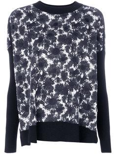свитер со стилизованным цветочным рисунком Marni