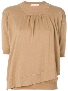 асимметричный свитер Marni