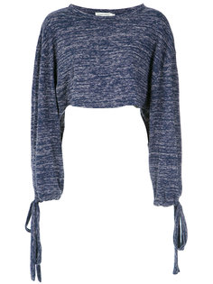 long sleeves cropped top Giuliana Romanno