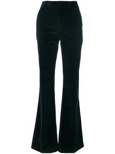 расклешенные вельветовые брюки Prada