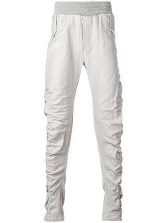спортивные штаны с асимметричными карманами Lost & Found Ria Dunn