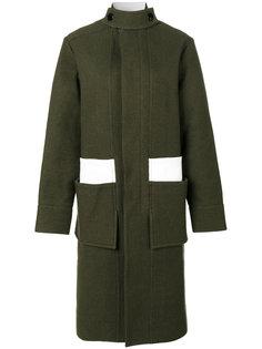 пальто с контрастными вставками Marni