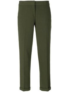 укороченные брюки строгого кроя Michael Michael Kors