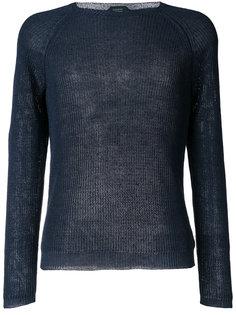 свитер с рукавом-реглан Zanone