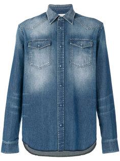 выбеленная джинсовая рубашка  Maison Margiela