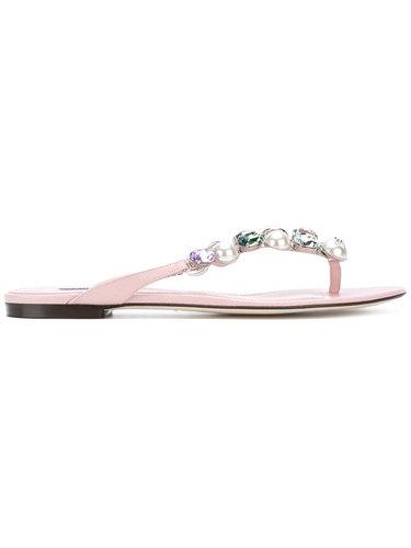 сандалии 'Bejeweled' Dolce & Gabbana