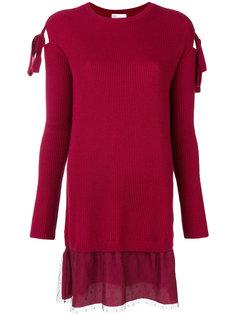 вязаное платье Red Valentino