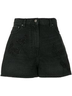 джинсовые шорты свободного кроя Valentino