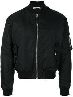 куртка-бомбер с нашивкой Illuminati Givenchy