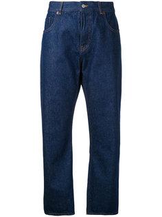 прямые укороченные джинсы Mm6 Maison Margiela