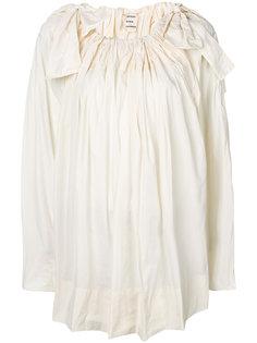 блузка с бантами на плечах Maison Rabih Kayrouz