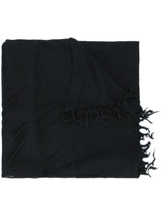 вязаный шарф с бахромой  Lost & Found Rooms