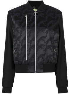 вышитая куртка-бомбер Versace Jeans