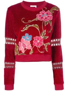 свитер с вышивкой See By Chloé