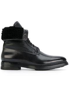 высокие ботинки Santoni