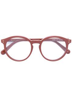 очки с круглой оправой Stella Mccartney Eyewear