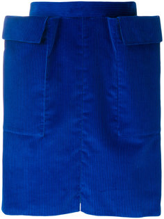структурированная юбка Maison Rabih Kayrouz