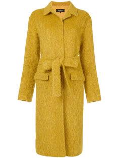 удлиненное пальто с поясом Rochas