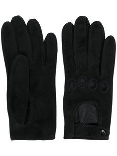 перчатки с вырезными деталями Manokhi