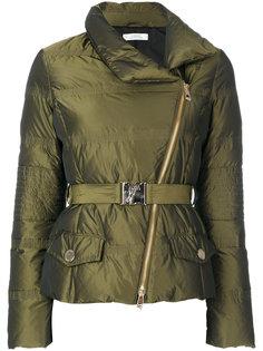 дутая куртка с поясом Versace Collection
